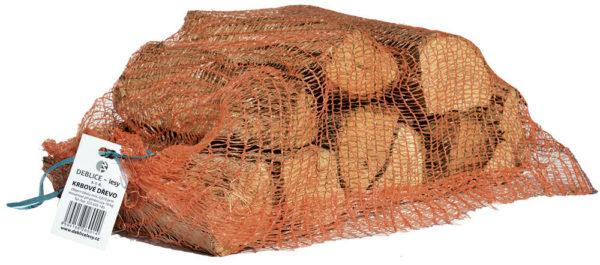 Krbové dřevo tvrdé / pytel 10kg