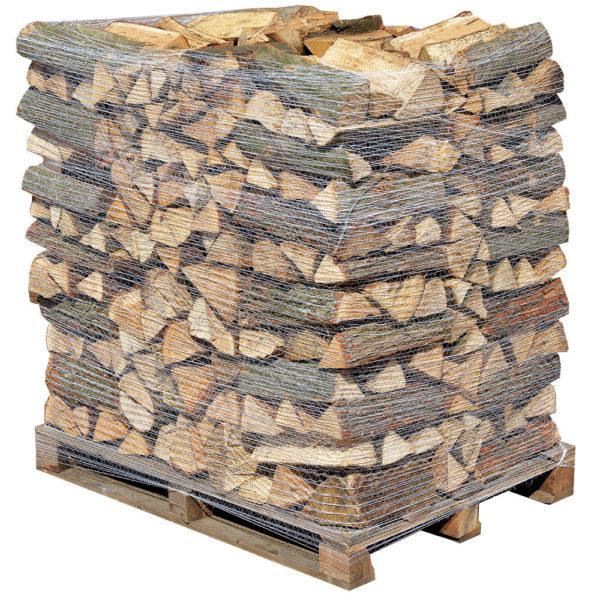 Krbové dřevo rovnané napaletě1prm